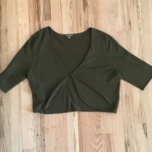 Ann Taylor Sweater Single Button